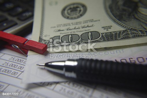 490632340 istock photo Balance sheet 643317222