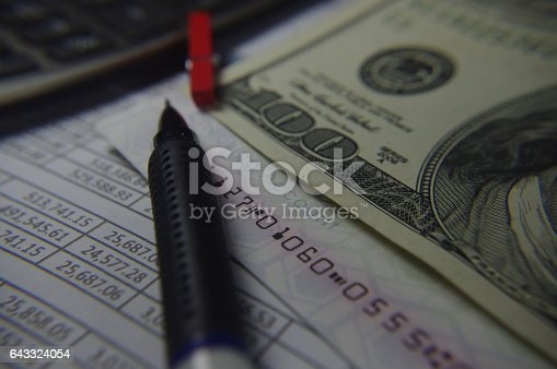 490632340 istock photo Balance sheet 643324054