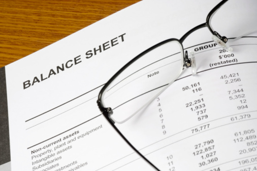 Balance Sheet Stock Photo - Download Image Now