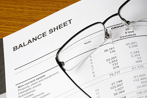 Balance sheet  bank statement stock pictures, royalty-free photos & images