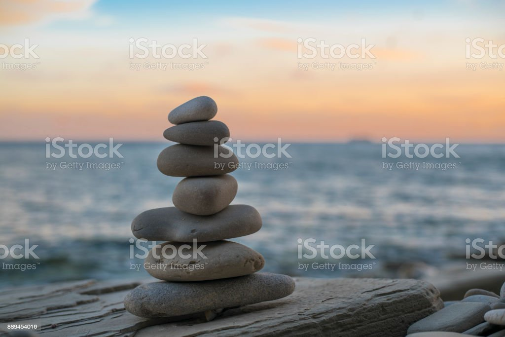 Balance spa wellness concept stock photo
