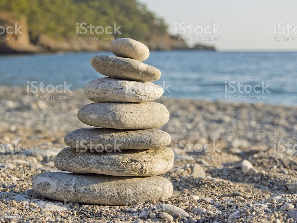 Balance, Stone, Rock, Spa Treatment, Beach, Water, Sea, Pebble, royalty-free stock photo