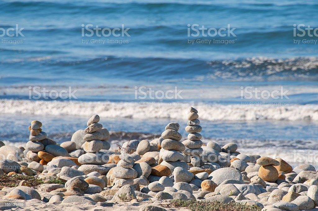 Balance Stones, Cairns royalty-free stock photo