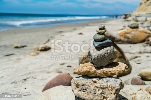591835714 istock photo Balance stress and vacations in your life 1190749871