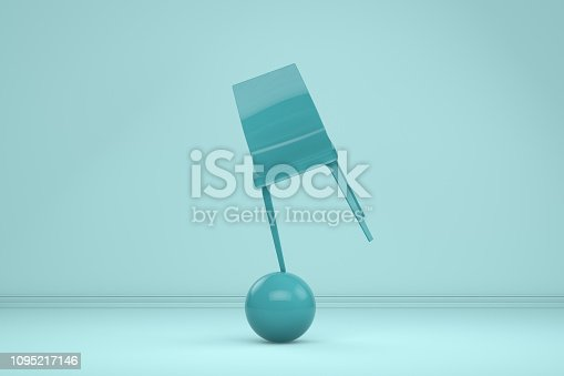 1095218088 istock photo Balance with Chair, Minimal Concept 1095217146