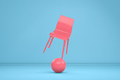 Balance with Chair, Minimal Concept