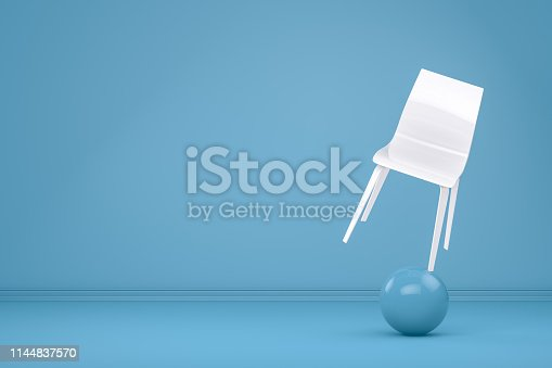 1095218088 istock photo Balance with Chair, Minimal Concept 1144837570