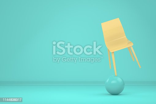 1095218088 istock photo Balance with Chair, Minimal Concept 1144838317