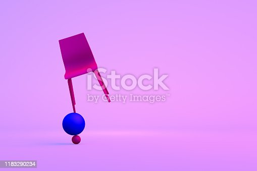 1095218088 istock photo Balance with Chair, Minimal Concept 1183290234