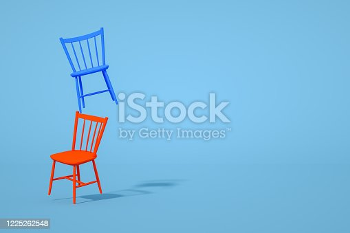 1095218088 istock photo Balance with Chair, Minimal Concept 1225262548