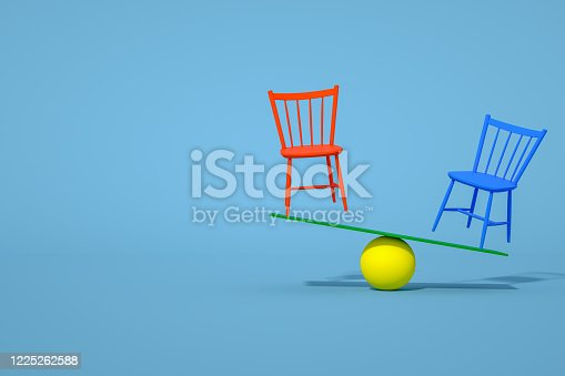 1095218088 istock photo Balance with Chair, Minimal Concept 1225262588