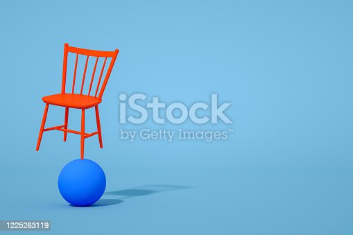 1095218088 istock photo Balance with Chair, Minimal Concept 1225263119
