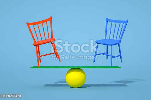 1095218088 istock photo Balance with Chair, Minimal Concept 1225263179