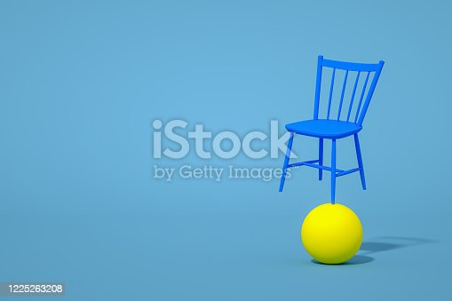 1095218088 istock photo Balance with Chair, Minimal Concept 1225263208