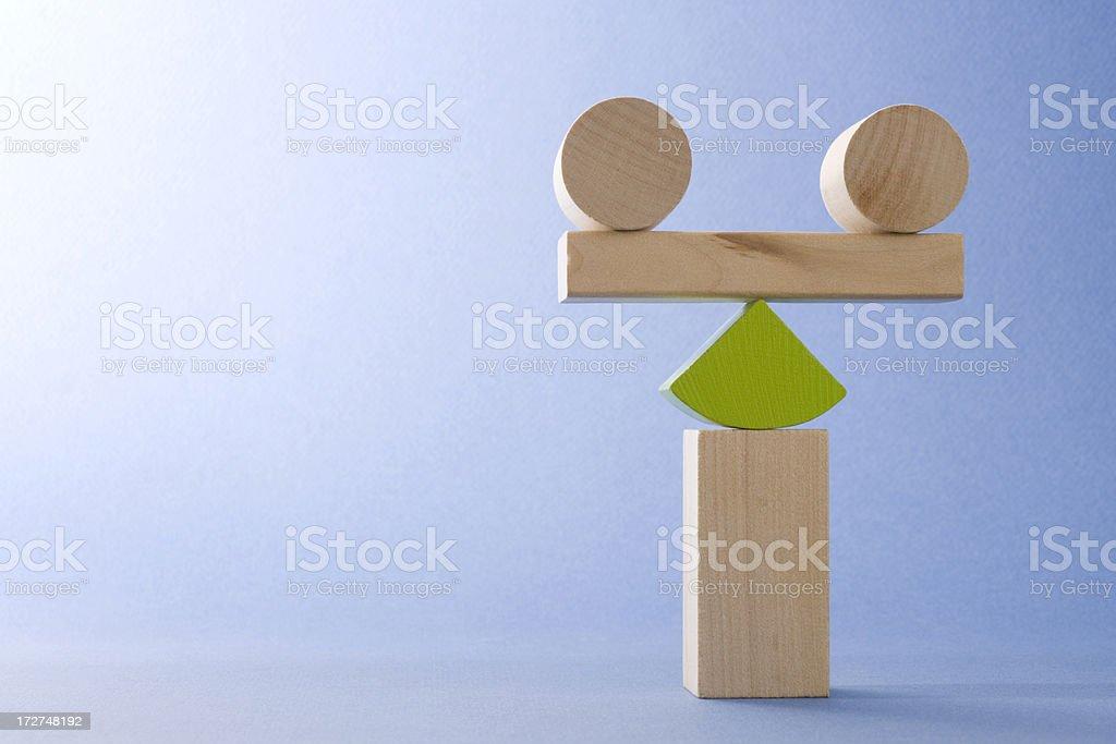 Balanced and zen royalty-free stock photo