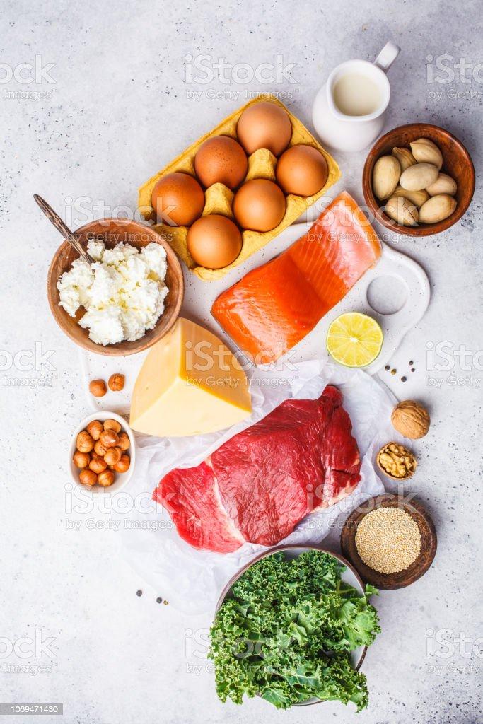 Dieta de la carne y huevo