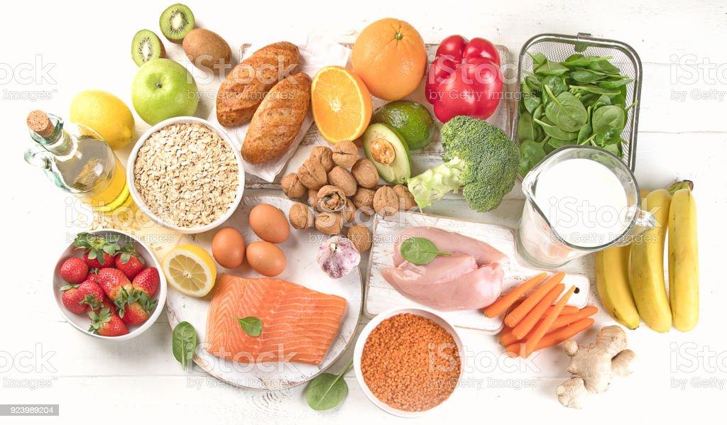 Balanced diet stock photo