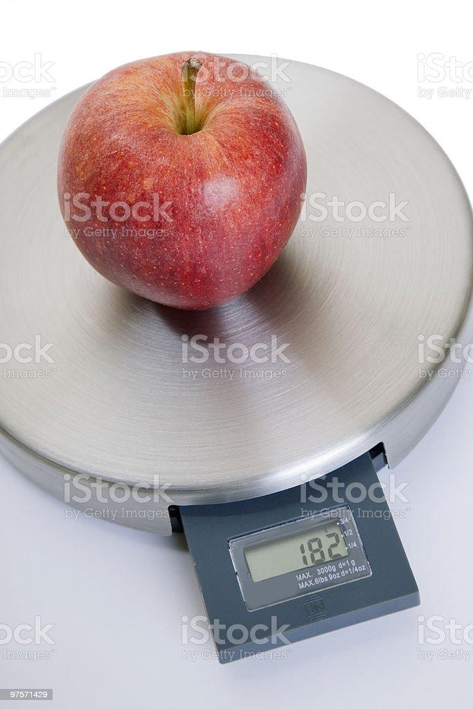 Alimentation équilibrée photo libre de droits