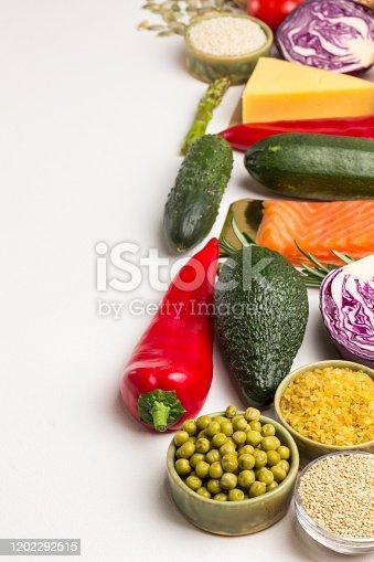 istock Balanced food for  healthy lifestyle 1202292515