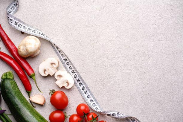 Balanced food healthy vegetables and measure tape picture id1156225697?b=1&k=6&m=1156225697&s=612x612&w=0&h=ta rzmpity240as92tw eznaxhee2n1n2smq53nkvxq=