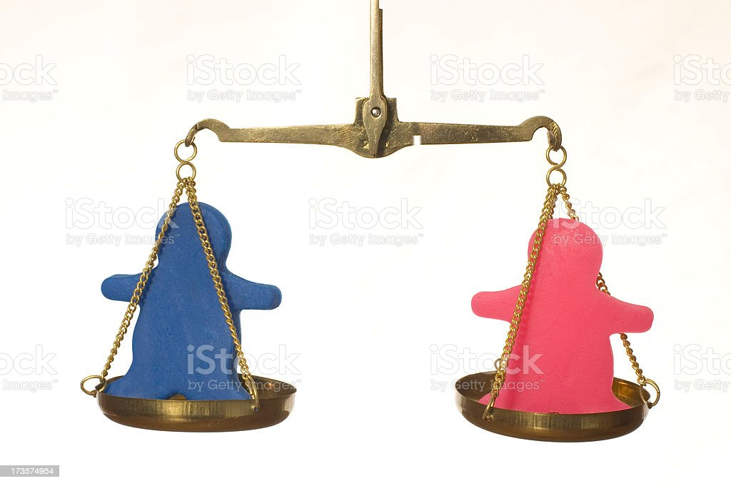 balanced out royalty-free stock photo