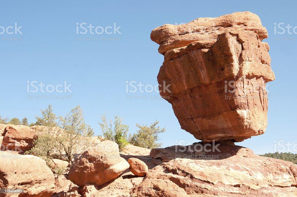 Balanced Rock royalty-free stock photo