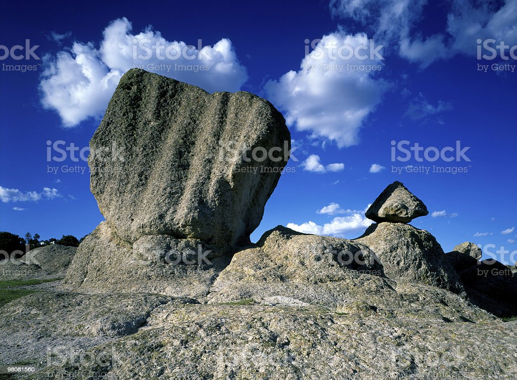 Balanced Rocks, Barranca del Cobre royalty-free stock photo