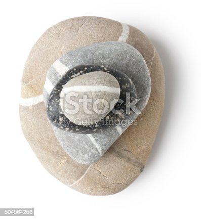 istock Balanced stone pile 504564253