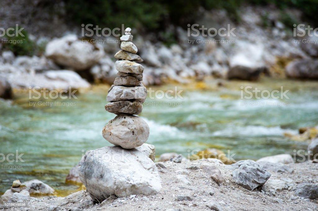 balanced stones - Royalty-free Balance Stock Photo