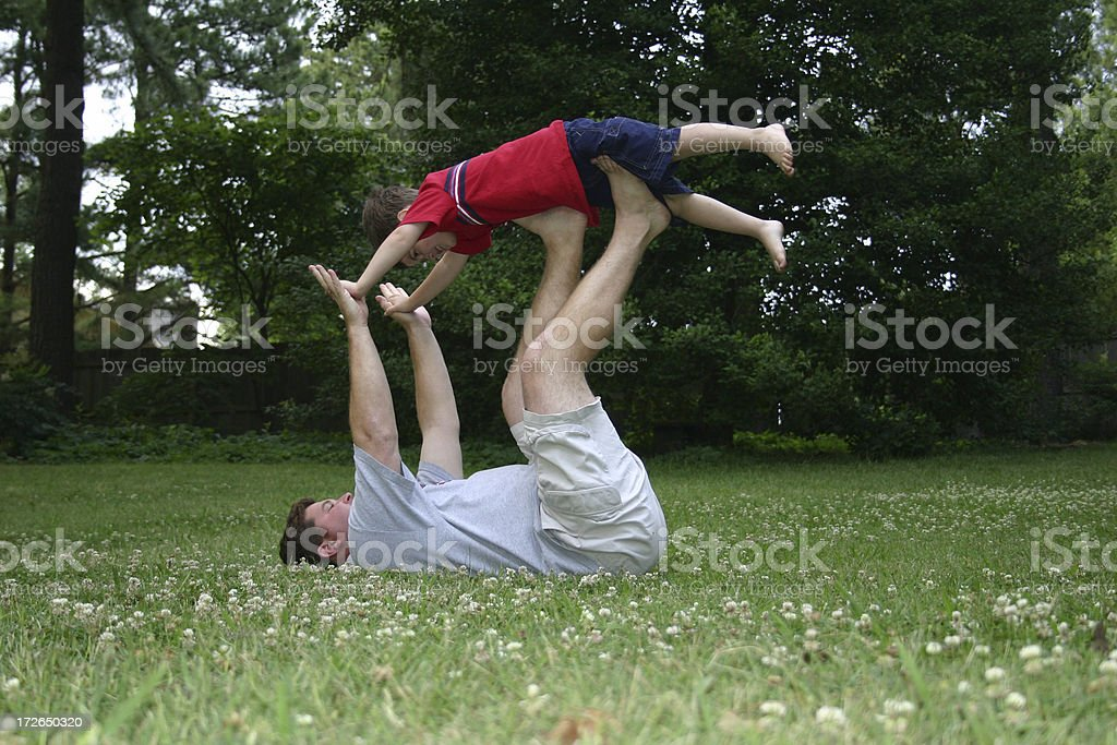 Balancing Act stock photo