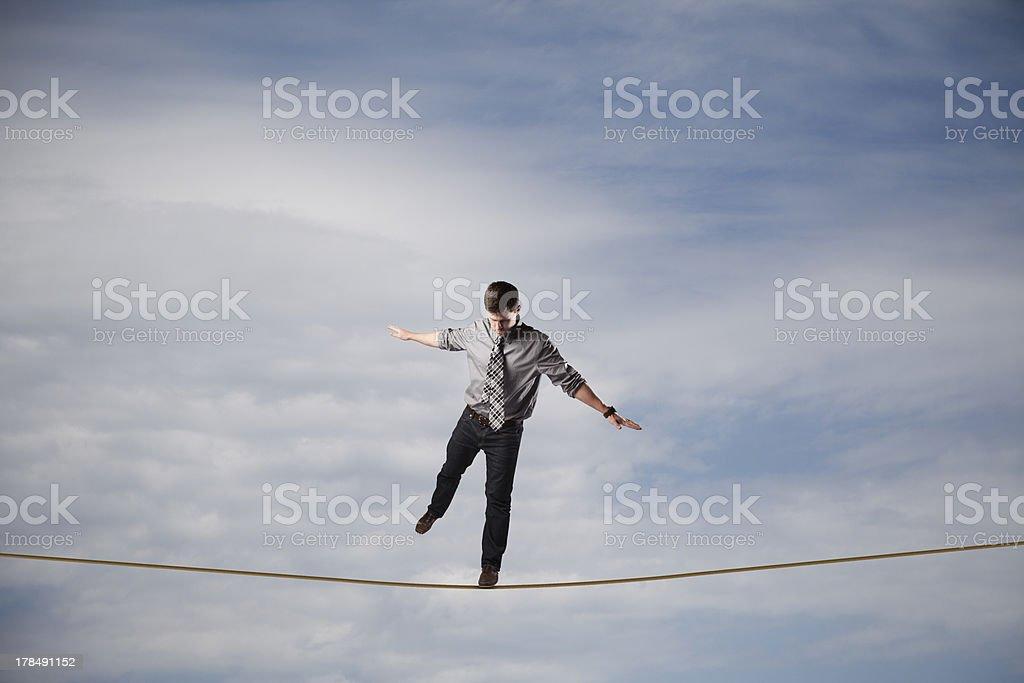 Balancing Act royalty-free stock photo