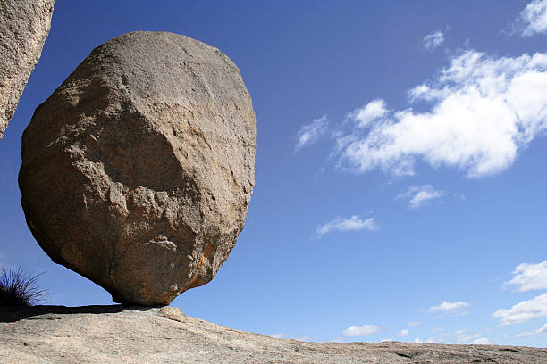Balancing Rock stock photo