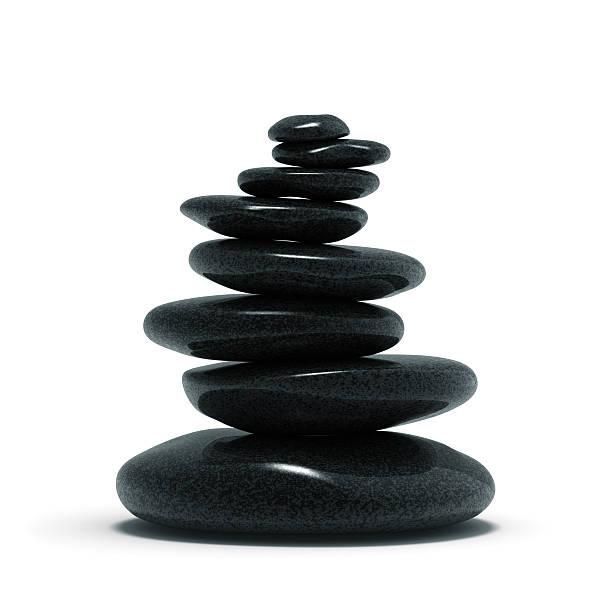 pietre di bilanciamento del bianco - balance graphics foto e immagini stock
