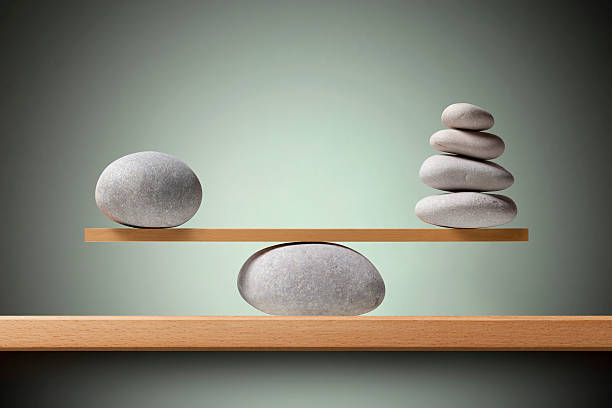 balancing stones - stability stock photos and pictures