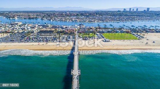 istock Balboa Island, Newport Beach, California 693116030
