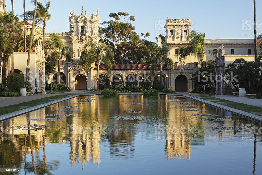 Balboa Park Architecture royalty-free stock photo