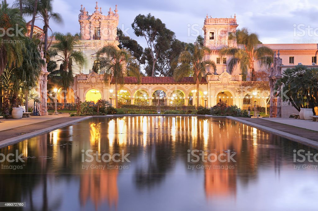 Balboa Park Architecture - San Diego stock photo
