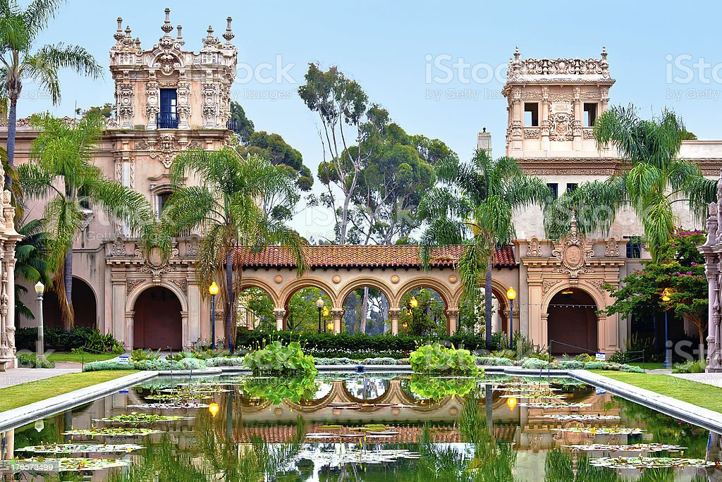Balboa Park, City of San Diego, Southern California, USA stock photo