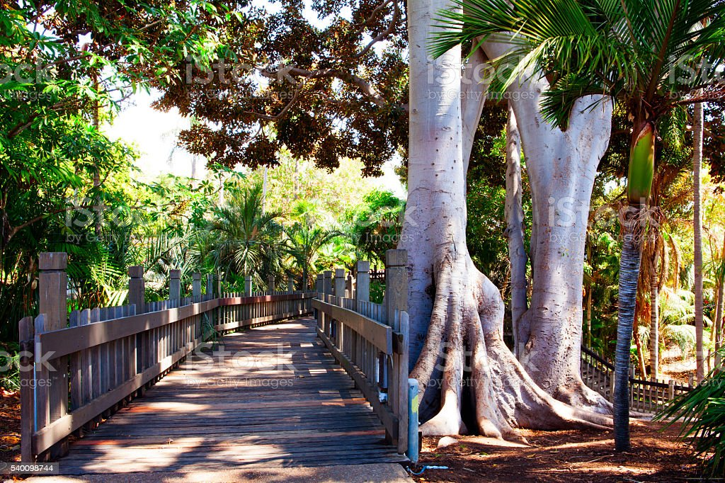 Balboa park in San Diego California stock photo
