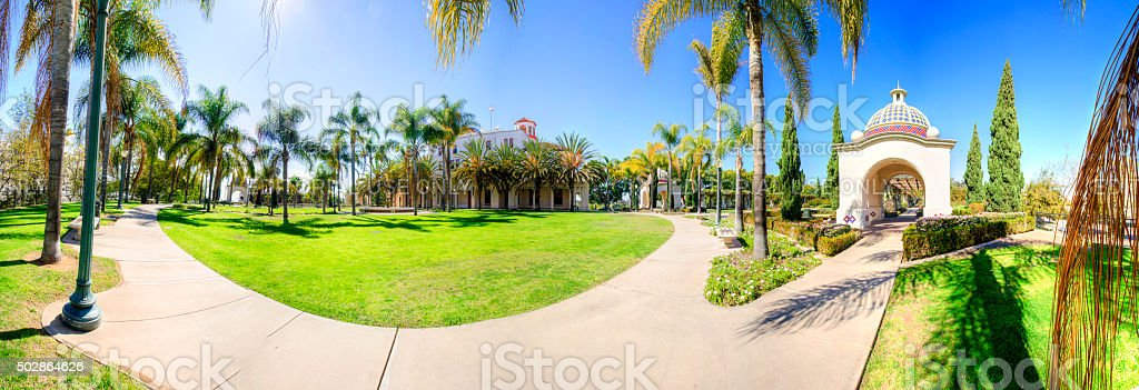 Balboa Park, San Diego, California stock photo