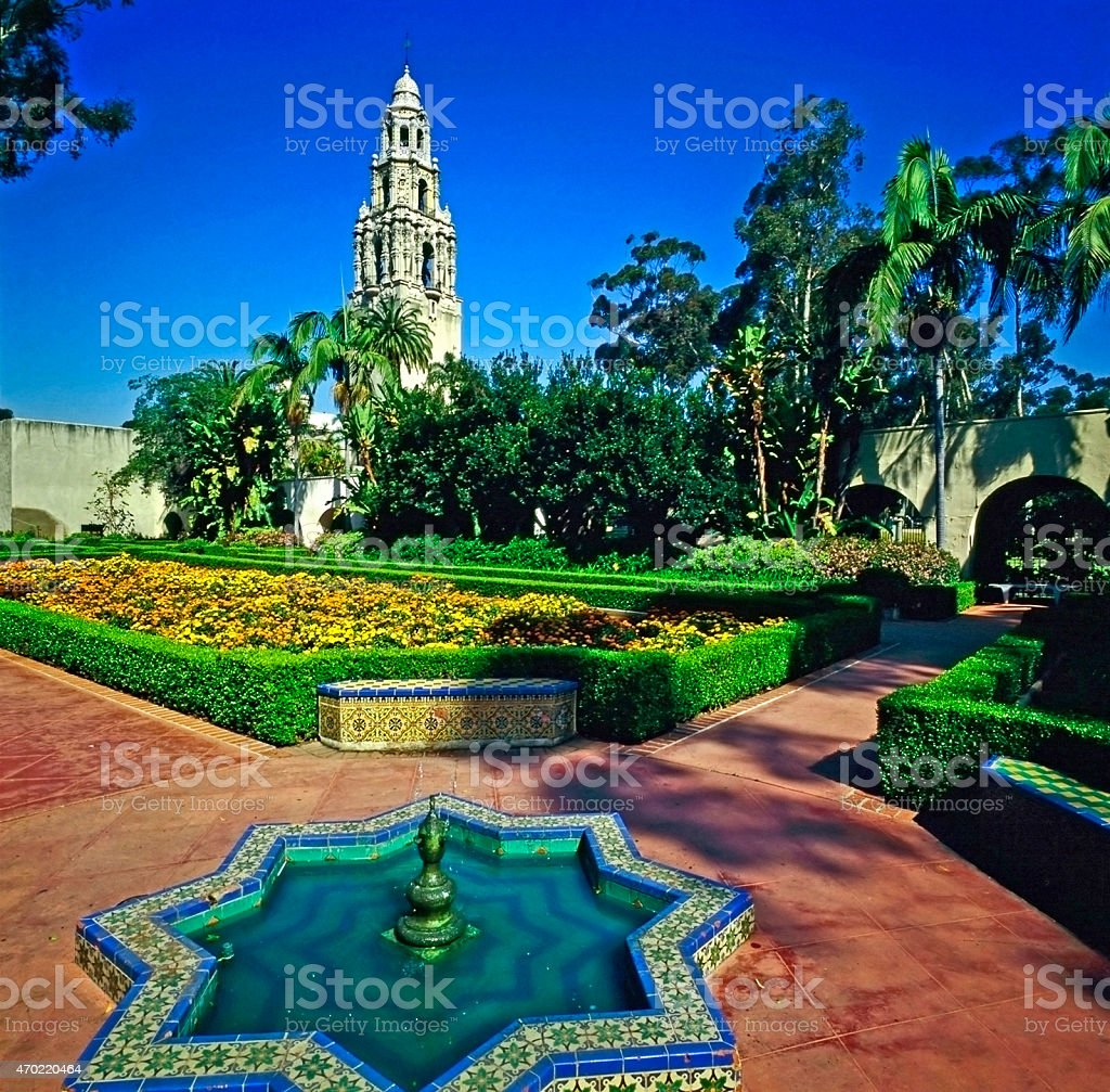 Balboa Park, San Diego stock photo