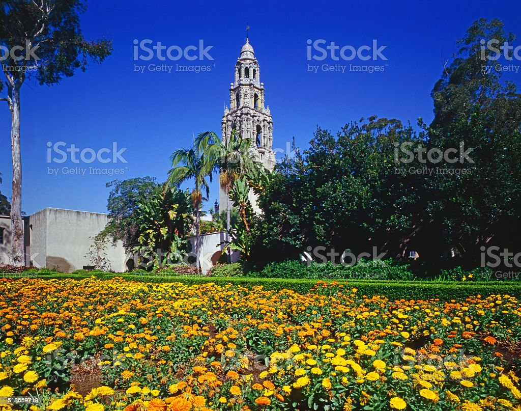 Balboa Park,San Diego stock photo