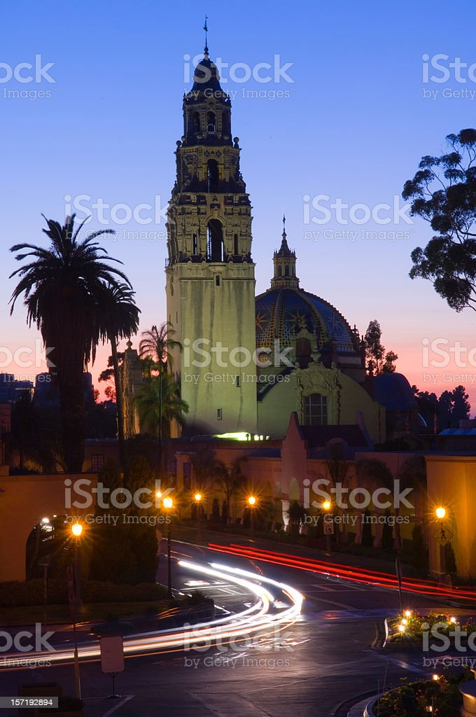 Balboa Tower stock photo
