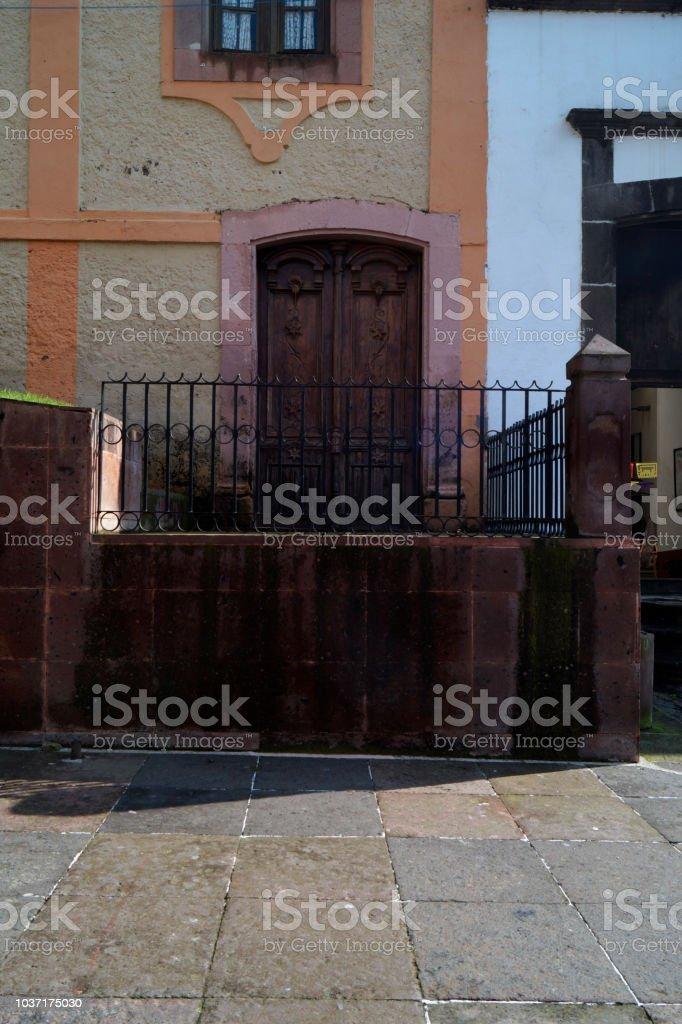 Balcón de Cantera - foto de stock