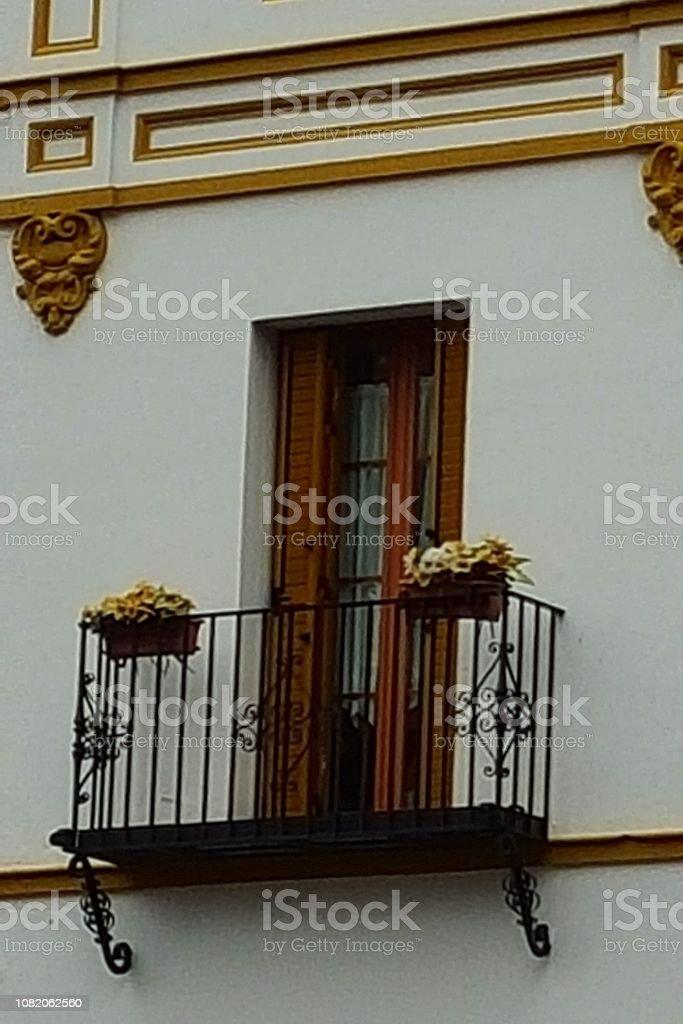 Balcon andalou stock photo
