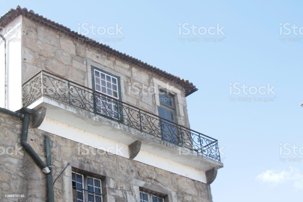 balcon stock photo