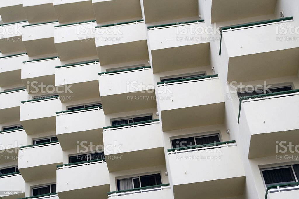 Balconic pattern royalty-free stock photo