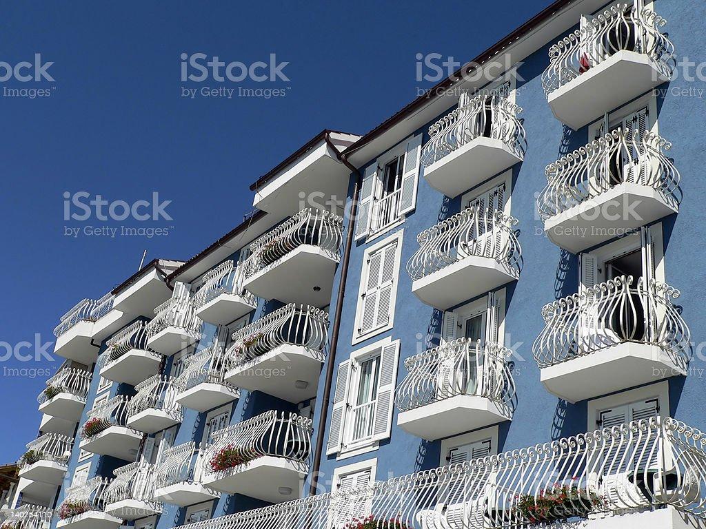 Balcones - foto de stock