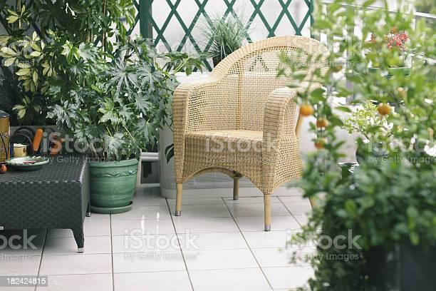 Balkon In Ecklage Stockfoto und mehr Bilder von Balkon