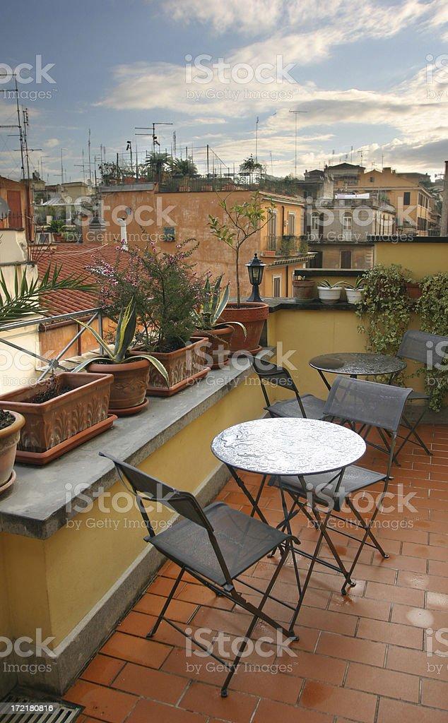 Balkon in Rom – Foto